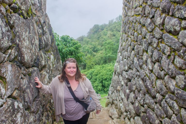 Michelle at Machu Picchu Inspired Travel Adventures