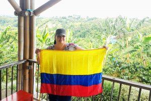 Michelle Gaudet in Colombia Travel Agent Appreciation Edition