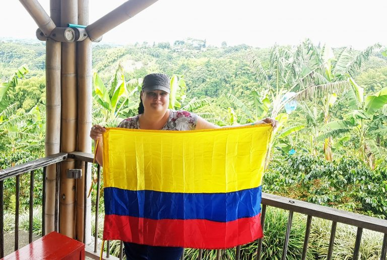 Michelle Gaudet in Colombia Travel Agent Appreciation Edition