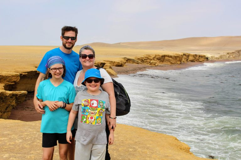 Family Picture Paracas Michelle Gaudet